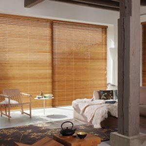 Bambusové a drevené žalúzie